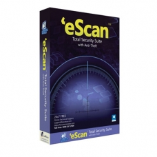 eScan Total Security Suite for Win 1 felhasználó 1 évre (elektr. reg.)